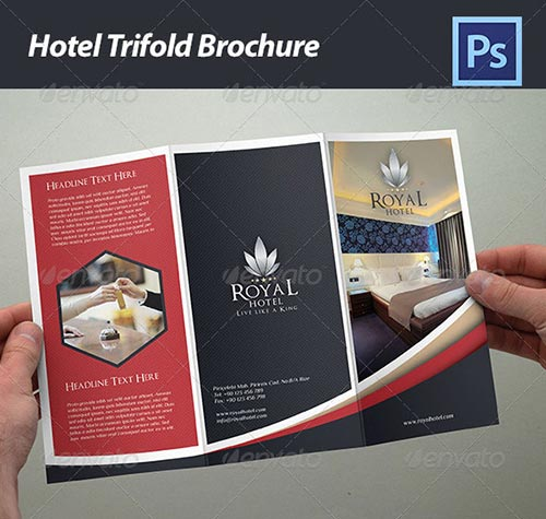 30 inspiring brochure templates 2013 for Hotel brochure design inspiration