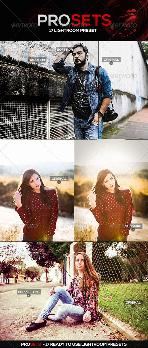 PROSETS Lightroom Presets - Lightroom Presets Add-ons