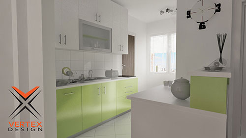 Kitchen Design Ready for Rendering