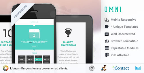 Omni -  Responsive E-mail template - Email Templates Marketing