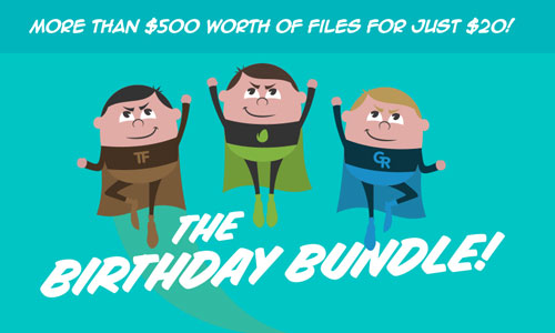 Envato Birthday Bundle