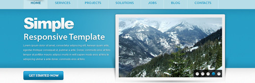 HTML5 and CSS3 Templates