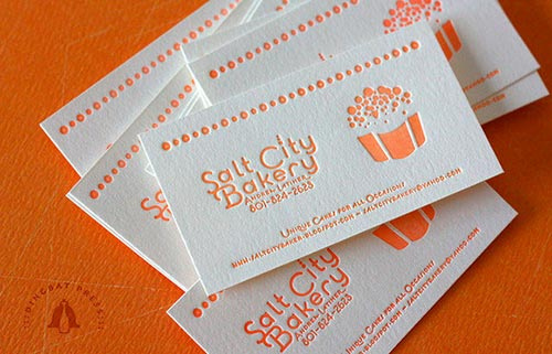 50 Letterpress Business Cards Design