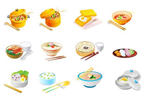 Free Food Vector Collection