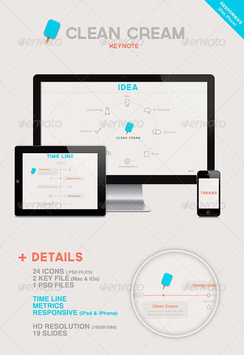 30 Attractive Keynote Templates
