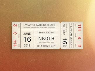 Eye Catching Ticket Designs