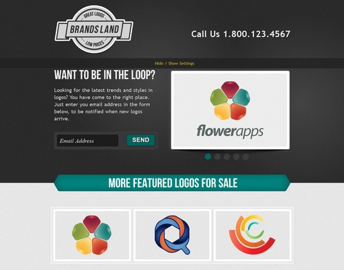 40 innovative landing page templates for Jquery landing page templates