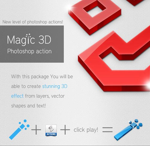 Photoshop Actions Sets
