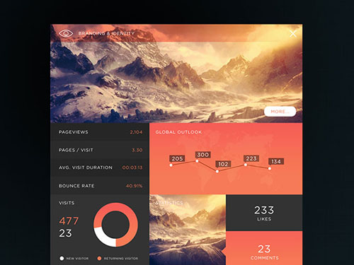 Dashboard UI Designs