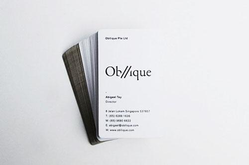 Inspiring Business Cards