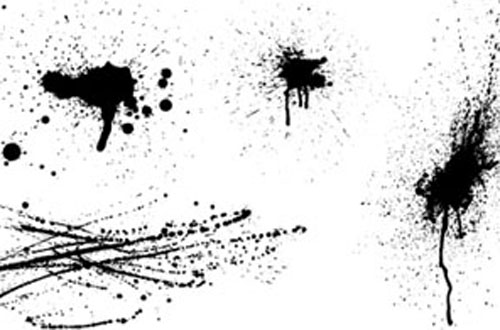 Splatters Vectors