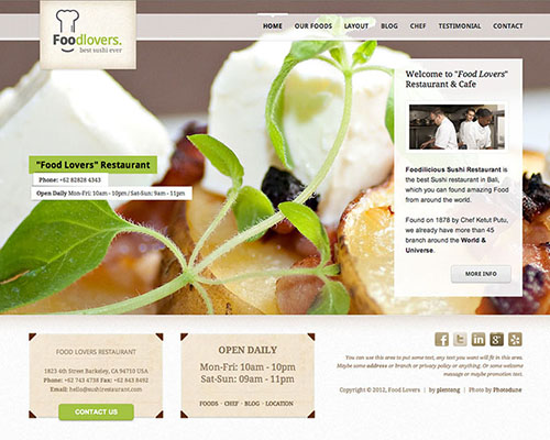 25 Best Cafe and Restaurant Templates