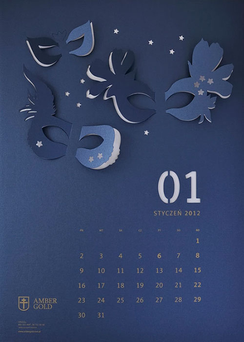 Calendar Design Idea : Creative calendar design ideas for