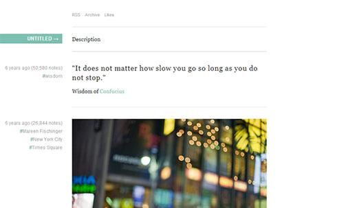 Free and Premium Tumblr Themes