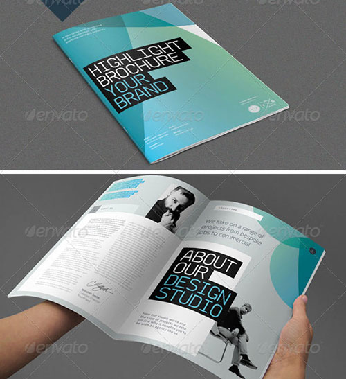 30 awesome indesign brochure templates for Brochure design indesign templates