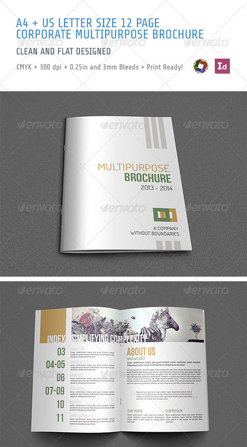 30 awesome indesign brochure templates