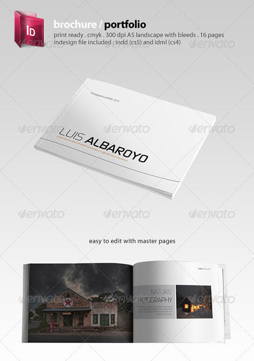 30 awesome indesign brochure templates for Adobe indesign tri fold brochure template