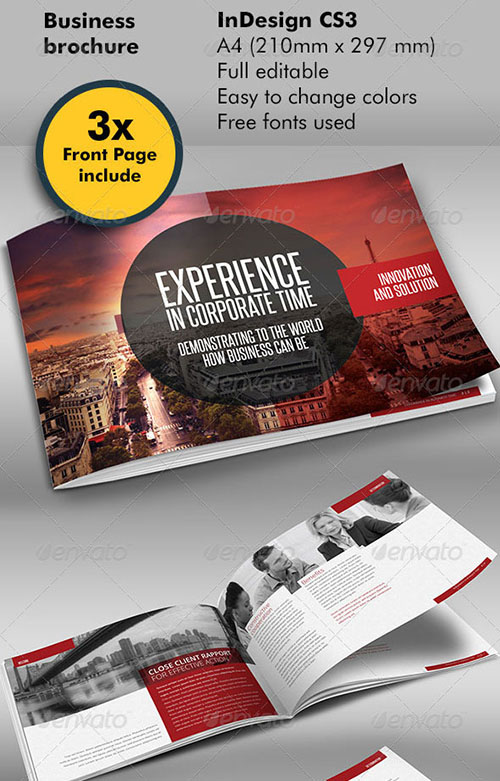 indesign brochure template - 30 awesome indesign brochure templates