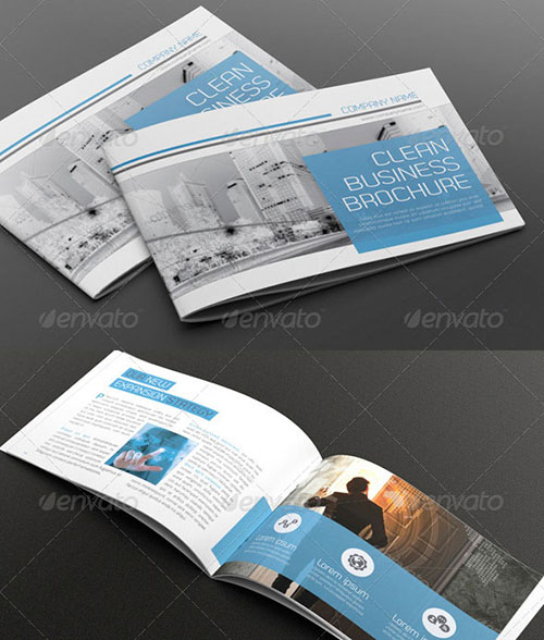 30 awesome indesign brochure templates for Indesign 3 fold brochure template