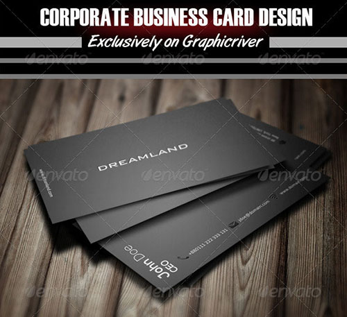 50+ Creative PSD Business Card Templates