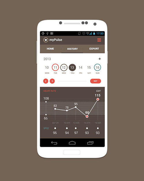 20 Cool Android App UI Designs