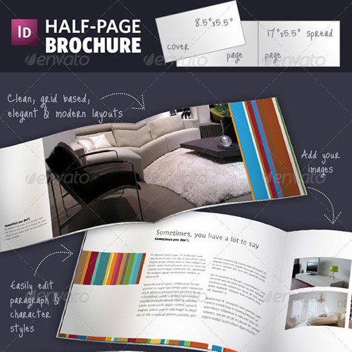 45 business brochure design templates. Black Bedroom Furniture Sets. Home Design Ideas
