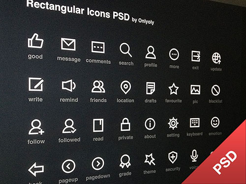 17 Fresh and Free PSD Icon Sets