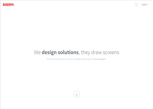 Single Page Website Design 2013