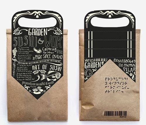 Typography Packaging Designs