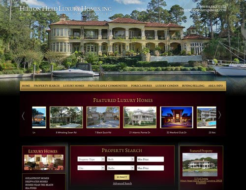 Real Estate Web Design