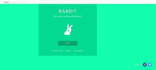HTML5 Game Website Designs