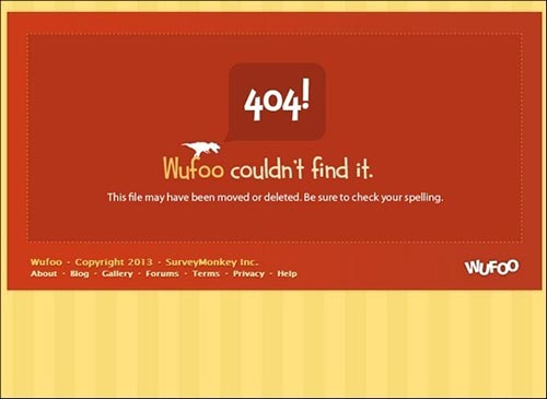 404  Page Design Inspiration