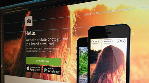 Free PSD Mobile Apps Mockups