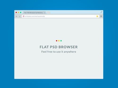 Free PSD Web Browser Mockups