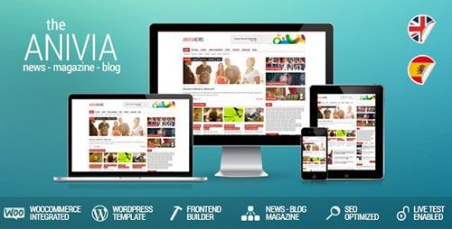 Flat WordPress Magazine Themes