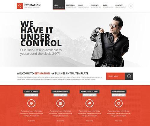 HTML5 Business Website Templates