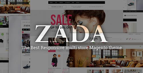 Magento Fashion Themes 2014