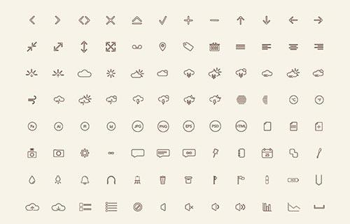 Free Modern Icon Sets
