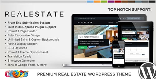 Premium Real Estate WordPress Themes