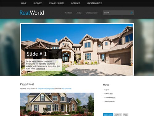 20+ Premium Real Estate WordPress Themes
