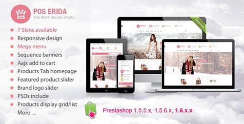 PrestaShop Fashion Themes and Templates 2014