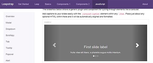 Twitter Bootstrap Extensions