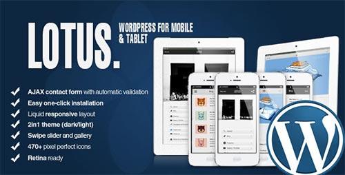 WordPress Mobile Themes & Templates