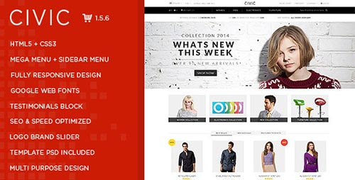 OpenCart Themes & Templates
