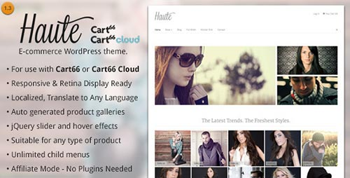 5 Best Cart66 Themes & Templates 2014