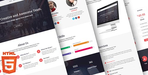 40+ Top Trending Landing Page Templates