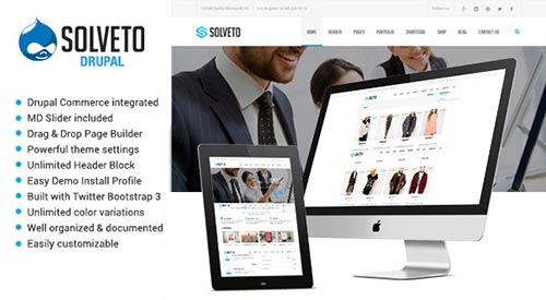 29 Top Quality Responsive Drupal Themes 2015