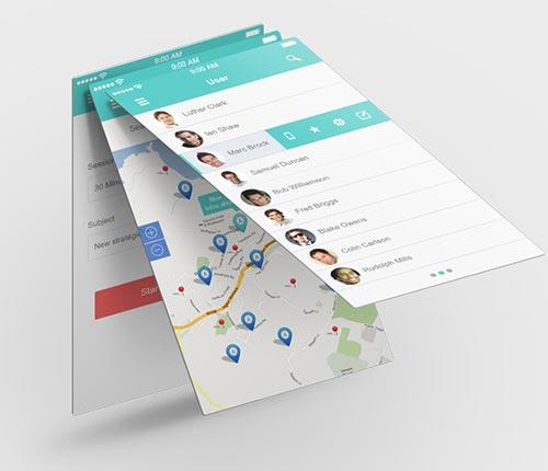 20+ Retina Ready Mobile UI Kits