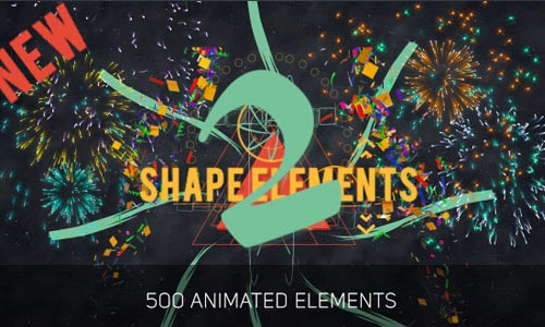 After Effects Shape Elements and Openers