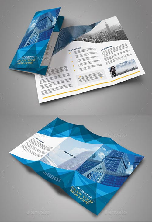 30 inspiring psd indesign brochure templates for Indesign templates brochure